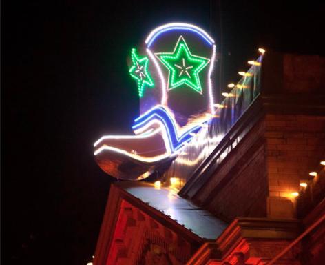 Historic Whiskey Row Boot Drop