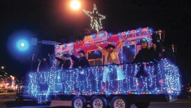 Holiday Light Parade Prescott