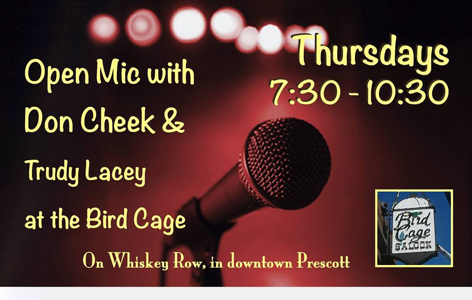 Open Mic Night At The Bird Cage