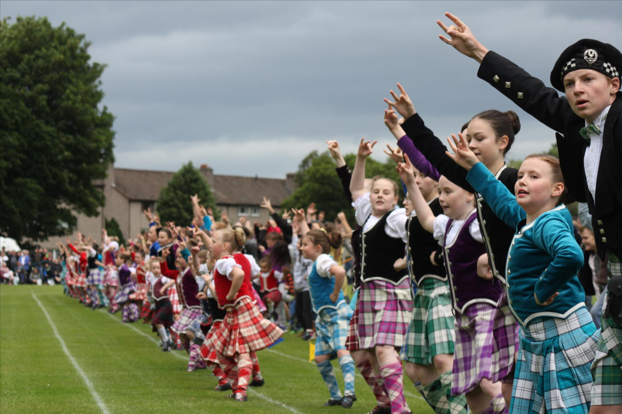 Highland Games Are In Town