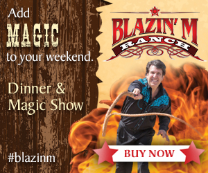 Dinner and Magic Show at Blazin' M Ranch