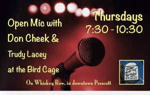 Open Mic Night at The Bird Cage Saloon
