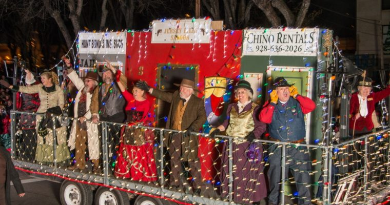 Prescott's 22nd Holiday Light Parade & After-Parade Bonfire