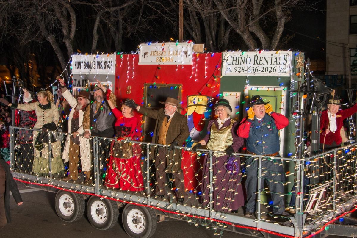 Holiday, light, parade, bon fire, music, reindeer, races, Prescott, AZ, Arizona, The Cody Anne Team, Cody Anne Yarnes
